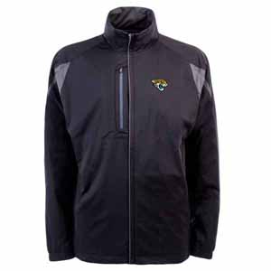 Jacksonville Jaguars Mens Highland Water Resistant Jacket (Team Color: Black) - Small