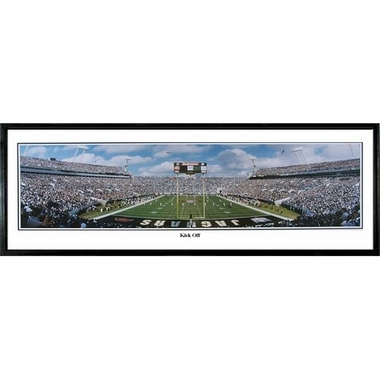 Jacksonville Jaguars Kick Off Framed Panoramic Print