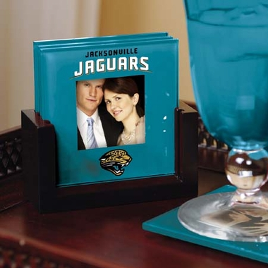 Jacksonville Jaguars Photo Coaster Set