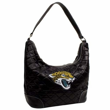 Jacksonville Jaguars Quilted Hobo Purse