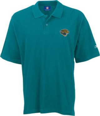Jacksonville Jaguars Reebok Basic Polo Shirt - Medium