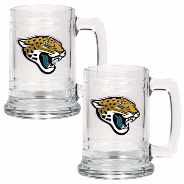 Jacksonville Jaguars Set of 2 15 oz. Tankards
