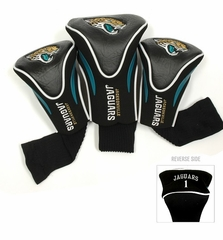 Jacksonville Jaguars Set of Three Contour Headcovers