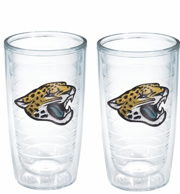Jacksonville Jaguars Set of TWO 16 oz. Tervis Tumblers
