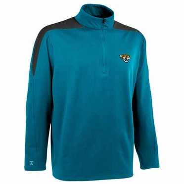 Jacksonville Jaguars Mens Succeed 1/4 Zip Performance Pullover (Team Color: Teal)