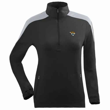 Jacksonville Jaguars Womens Succeed 1/4 Zip Performance Pullover (Team Color: Black)