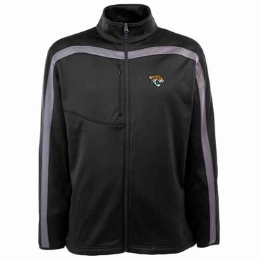 Jacksonville Jaguars Mens Viper Full Zip Performance Jacket (Team Color: Black)