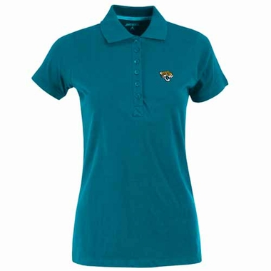 Jacksonville Jaguars Womens Spark Polo (Team Color: Teal)