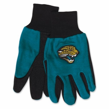 Jacksonville Jaguars Work Gloves (Adult)