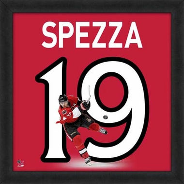 "Jason Spezza, Senators UNIFRAME 20"" x 20"""