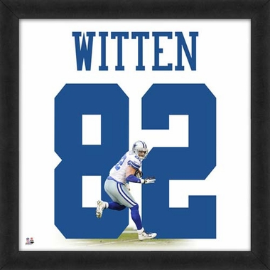 "Jason Witten, Cowboys UNIFRAME 20"" x 20"""