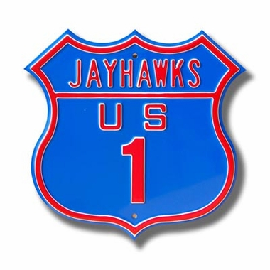 Jayhawks / 1 Route Sign