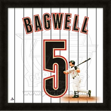 "Jeff Bagwell, Astros UNIFRAME 20"" x 20"""
