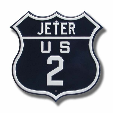 Jeter / 2 Route Sign