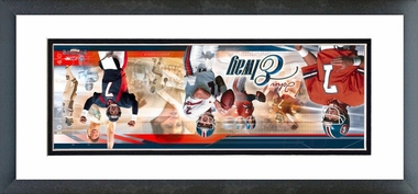 John Elway - Framed / Double Matted Photoramic