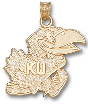 Kansas 10K Gold Pendant