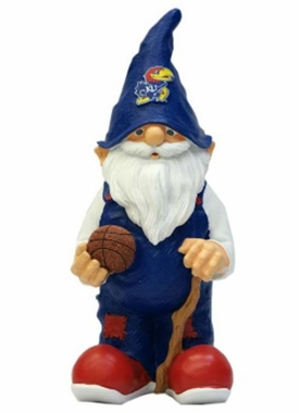 "Kansas Jayhawks Garden Gnome - 11"" Male"