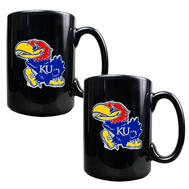Kansas 2 Piece Coffee Mug Set