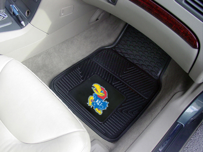 Kansas 2 Piece Heavy Duty Vinyl Car Mats