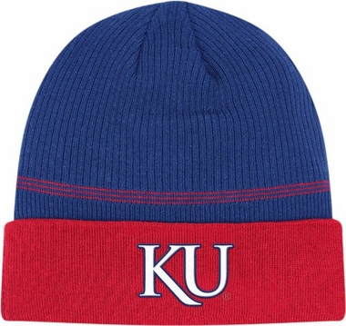 Kansas 2011 Sideline Cuffed Coaches Knit Hat Beanie