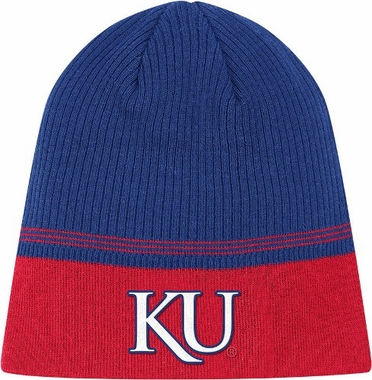 Kansas 2011 Sideline Cuffless Coaches Knit Hat Beanie