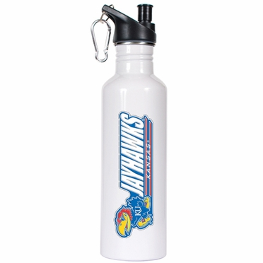 Kansas 26oz Stainless Steel Water Bottle (White)