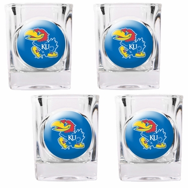 Kansas 4 Piece Shot Glass Set