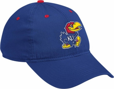 Kansas Adidas Adjustable Slouch Hat