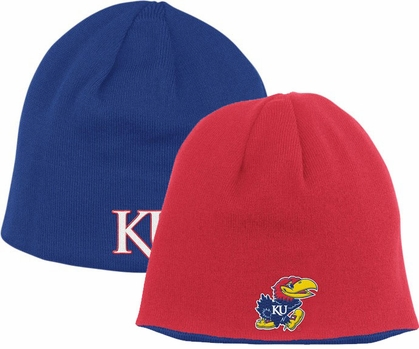 Kansas Adidas Reversible Knit Hat