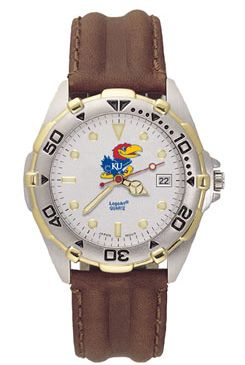 Kansas All Star Mens (Leather Band) Watch