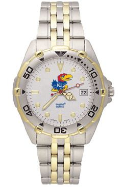 Kansas All Star Mens (Steel Band) Watch