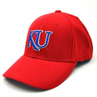 Kansas Alternate Color Premium FlexFit Hat - Large / X-Large
