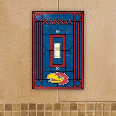 Kansas Art Glass Lightswitch Cover