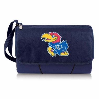 Kansas Blanket Tote (Navy)