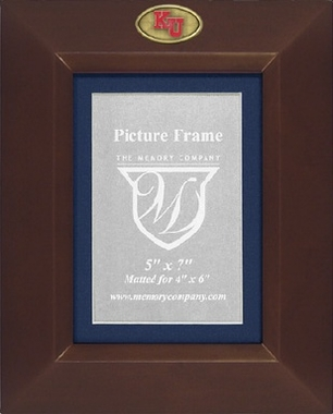Kansas BROWN Portrait Picture Frame