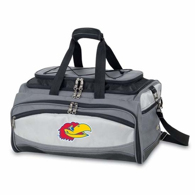 Kansas Buccaneer Tailgating Embroidered Cooler (Black)