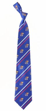 Kansas Cambridge Woven Silk Necktie