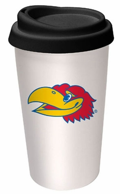 Kansas Ceramic Travel Cup