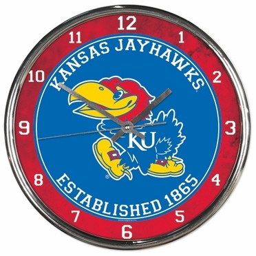 Kansas Chrome Clock