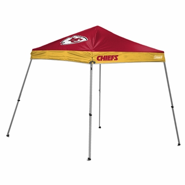 Kansas City Chiefs 10 x 10 Slant Leg Shelter