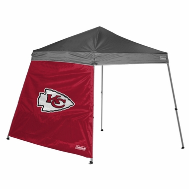 Kansas City Chiefs 10 x 10 Slant Leg Shelter Panel