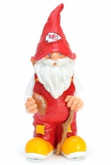 Kansas City Chiefs 11 Inch Garden Gnome