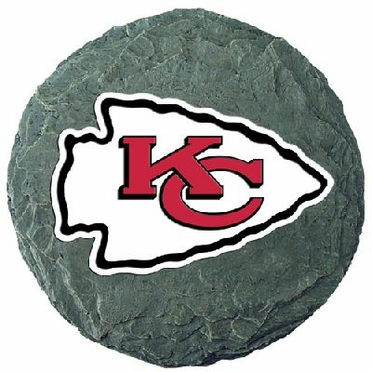 "Kansas City Chiefs 13.5"" Stepping Stone"