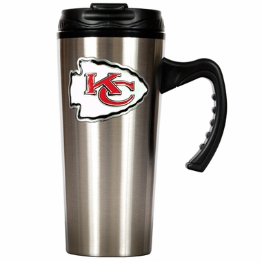 Kansas City Chiefs 16 oz. Thermo Travel Tumbler (Slim)