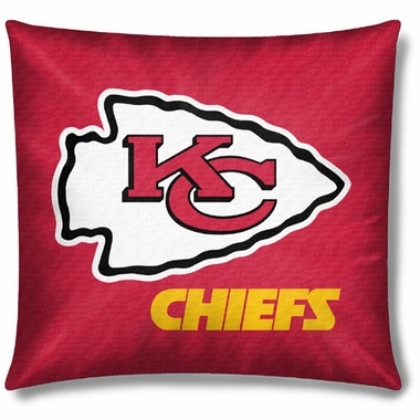 Kansas City Chiefs 18 Inch Toss Pillow