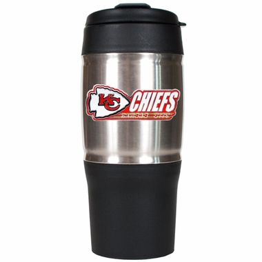 Kansas City Chiefs Heavy Duty Travel Tumbler