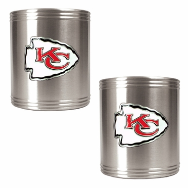 Kansas City Chiefs 2 Can Holder Set