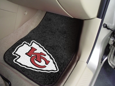 Kansas City Chiefs 2 Piece Car Mats