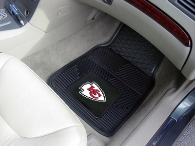 Kansas City Chiefs 2 Piece Heavy Duty Vinyl Car Mats