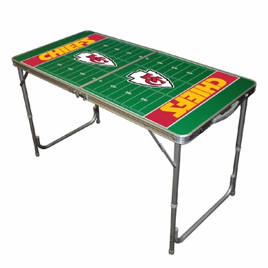 Kansas City Chiefs 2 x 4 Foot Tailgate Table